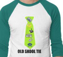 Old Skool Tie Men's Baseball ¾ T-Shirt