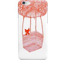 Adventure Cat ft. Plant Balloon iPhone Case/Skin