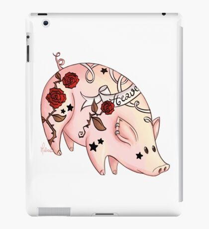 Tattoo Pig iPad Case/Skin