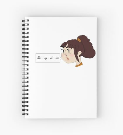 her my oh nee nee Spiral Notebook