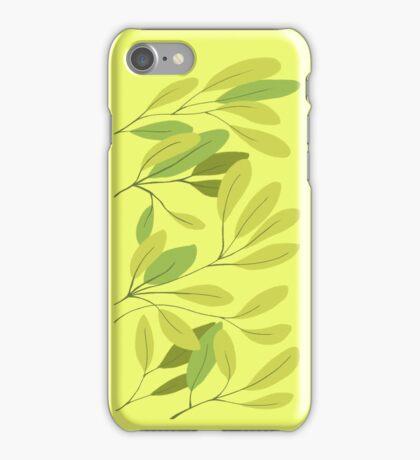leaves - green iPhone Case/Skin
