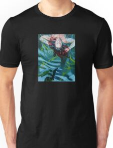 Trippy Painting - Woman In Lake Unisex T-Shirt
