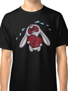 Broken Hearted Bunny Classic T-Shirt