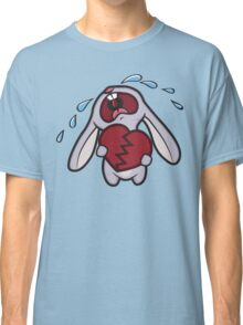 Broken Hearted Bunny Classic T-Shirt
