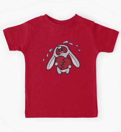 Broken Hearted Bunny Kids Clothes