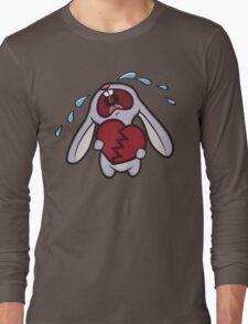 Broken Hearted Bunny Long Sleeve T-Shirt