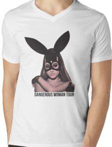 DANGEROUS WOMAN TOUR Mens V-Neck T-Shirt