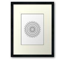 Color me Mandalas Framed Print