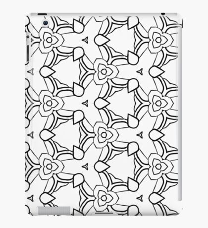 Silly pattern iPad Case/Skin