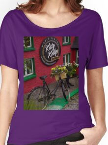 Kitty Kelly's restaurant, Donegal - tall Women's Relaxed Fit T-Shirt