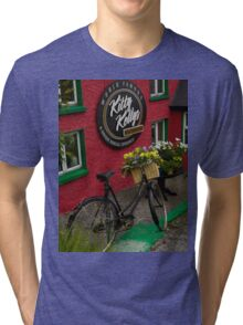 Kitty Kelly's restaurant, Donegal - tall Tri-blend T-Shirt