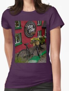 Kitty Kelly's restaurant, Donegal - tall Womens Fitted T-Shirt