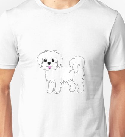 Lily the Maltese Unisex T-Shirt