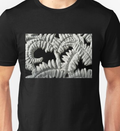 Graceful Black and White Fern Patterns - Take One Unisex T-Shirt