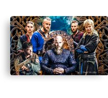 """Ragnar Lodbrok """"There i shall wait for my sons to join me..."""" Canvas Print"""