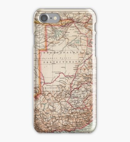South Africa Antique Maps iPhone Case/Skin