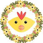 Chicken&Wreath by Koaladesign