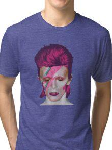 David Bowie Aladdin Sane // David Bowie Shirt // David Bowie Dress // David Bowie Mug // David Bowie Poster // David Bowie Ziggy Stardust Tri-blend T-Shirt