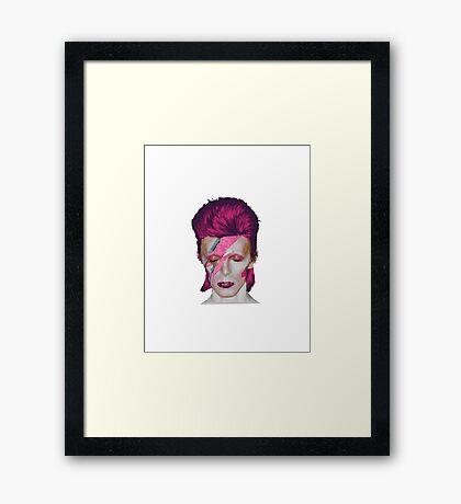 David Bowie Aladdin Sane // David Bowie Shirt // David Bowie Dress // David Bowie Mug // David Bowie Poster // David Bowie Ziggy Stardust Framed Print