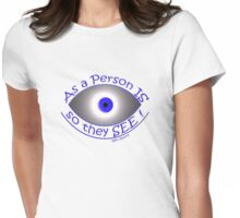 so we SEE! Womens Fitted T-Shirt