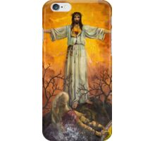 Santo Domingo Church Mural Of Salvation iPhone Case/Skin