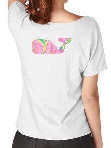 Preppy Whale Women's Relaxed Fit T-Shirt