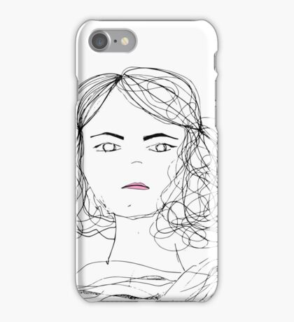 why smile? iPhone Case/Skin