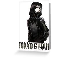 Anime: TOKYO GHOUL Greeting Card