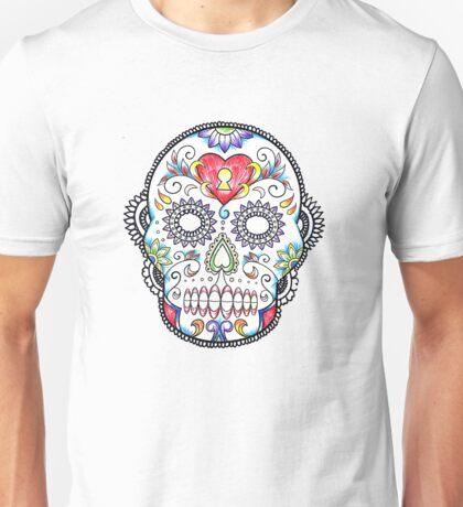 Locket Skull Unisex T-Shirt