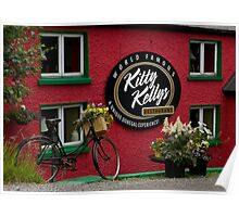 Kitty Kelly's restaurant, Donegal - wide Poster