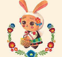 The Polish Bunny by haidishabrina