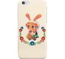 The Polish Bunny iPhone Case/Skin