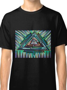 Vaporious Triangels Classic T-Shirt