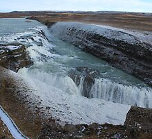 Mighty Golden Gulfoss Falls by karina5