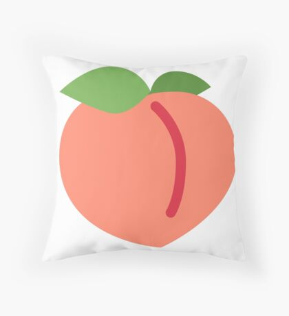 Simply Peachy Throw Pillow