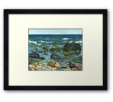 Block Island Framed Print