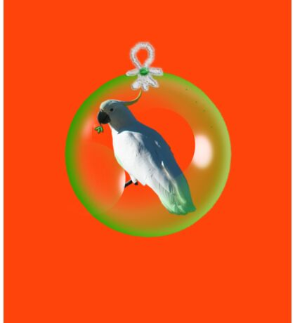 Aussi  X-mas  Cockatoo Card ( Red ) stock up! get ready for christmas ! Sticker