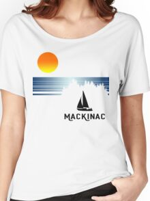 Vintage Mackinac Women's Relaxed Fit T-Shirt