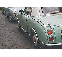 Mint Green Figaro Photographic Print