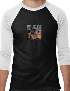 Palm tree at Sunset Men's Baseball ¾ T-Shirt