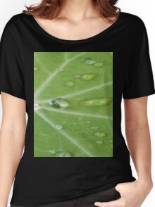 Nasturtium In Dew Women's Relaxed Fit T-Shirt