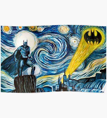 Batman Picasso Poster
