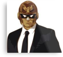 Captain Falcon in Formal Attire Metal Print
