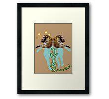 Sacred Twins Framed Print