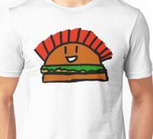 Burger with a mohawk  Unisex T-Shirt