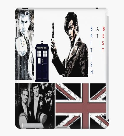 British At Best.  iPad Case/Skin