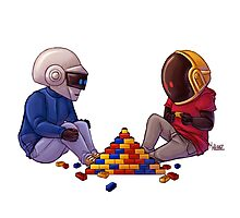 Daft Punk - Lego Photographic Print