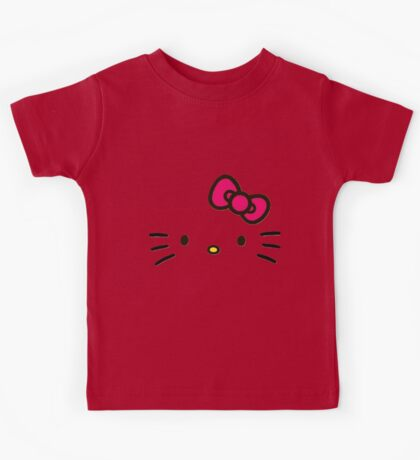 The Face of Hello Kids Tee