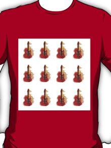 watercolor guitars T-Shirt