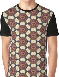 brown circle pattern Graphic T-Shirt